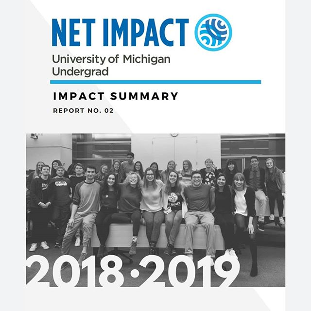 Check out what Net Impacters accomplished this past year in our Impact Summary! ☺ 🌎 🌱 Link in bio!