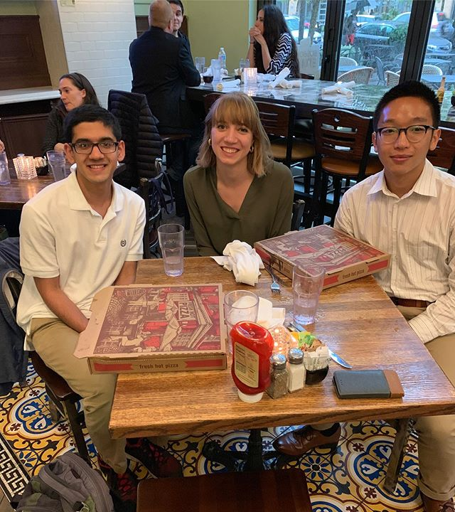 Net Impact Umich —  DC!! ✈️Charlene, Aaron, and Sahil are working in the capital this summer in microfinance, financial services, and at the National Institute of Health. Charlene (our 2018-19 co-pres) is taking her separation from NI one step at a time ...