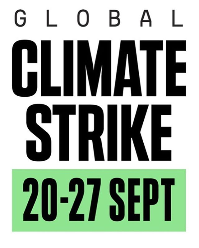 Who's joining us for the climate strike? We will be walking out of the Ross Wintergarden tomorrow at 11 a.m to head to Ingalls Mall with the rest of the Washtenaw community. We hope to see you all there -  repost from @gretathunberg