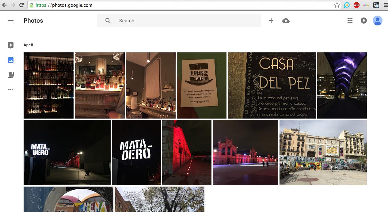 Clean, basic Google interface