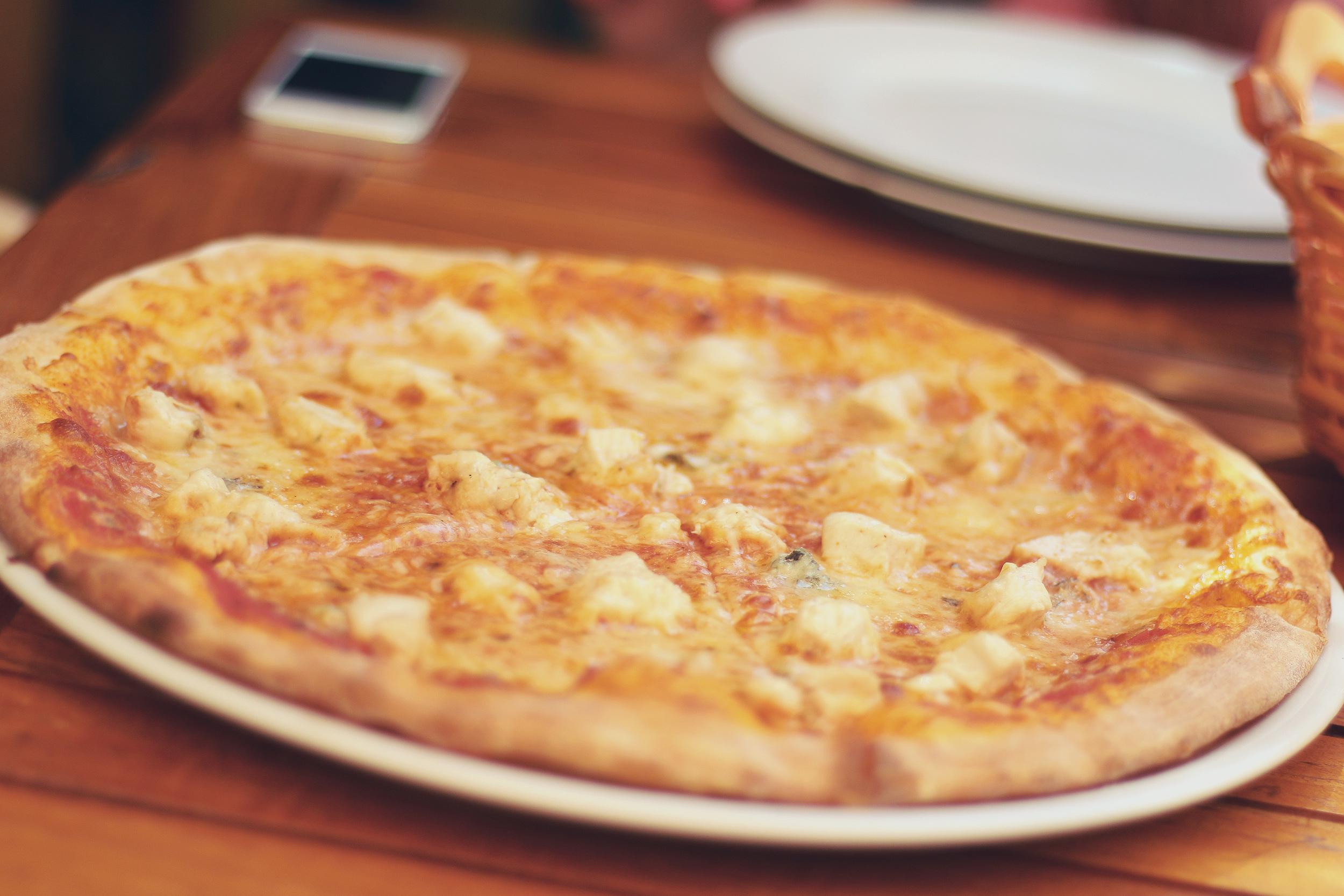 Like Bees to Honey: Pizza