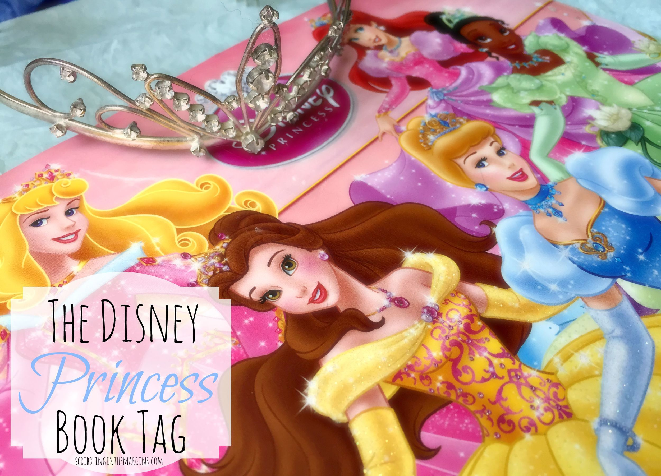 YEs, this is a picture of a book about DIsney Princess. I know. I'm cool.