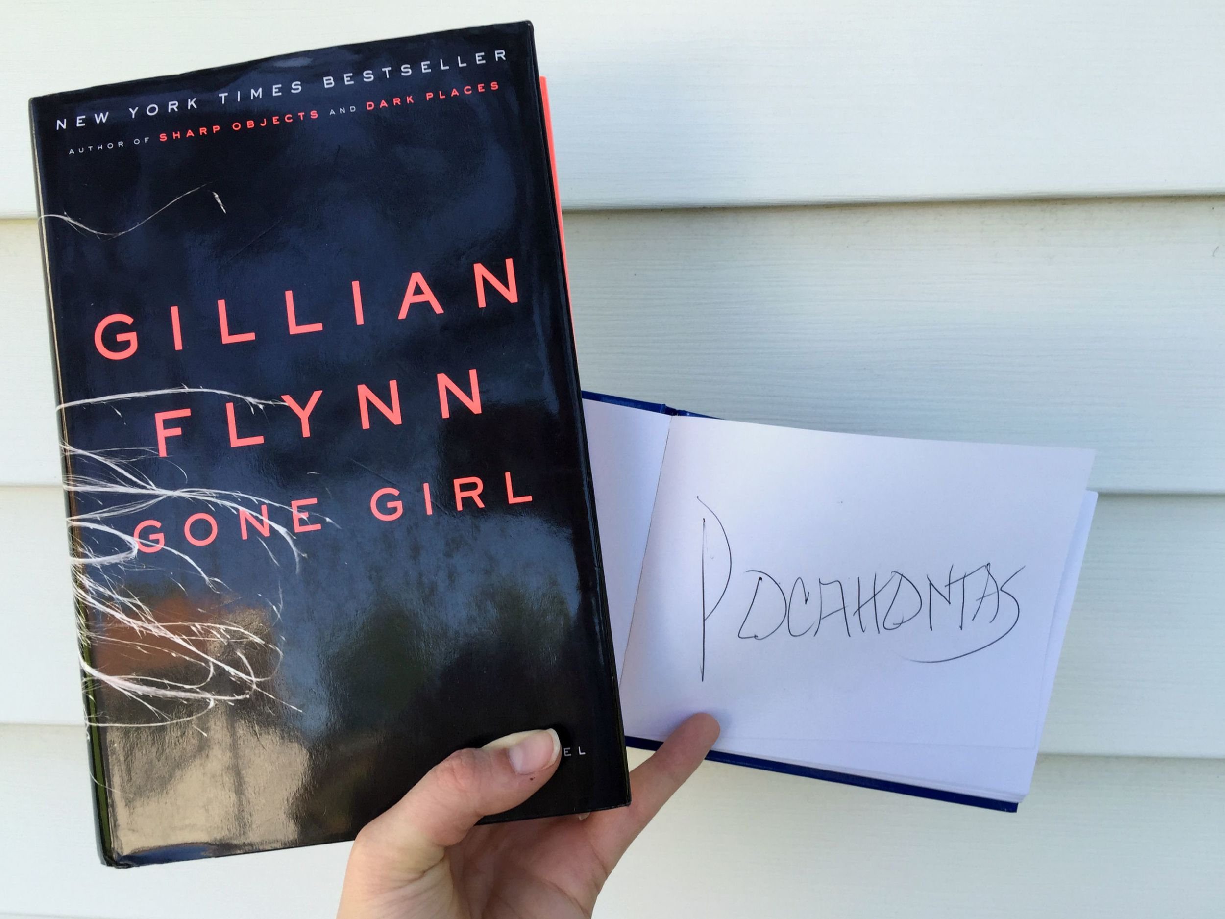 Gone Girl and Pocahontas