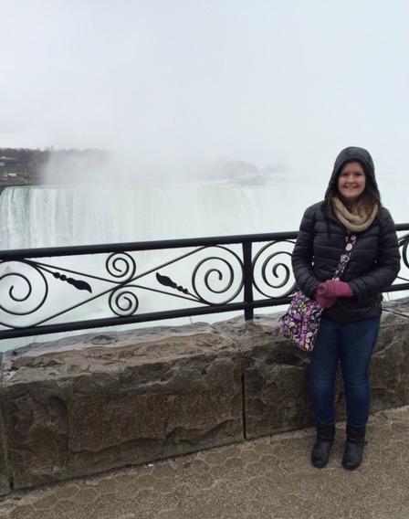 Niagara Falls is behind me, I swear.