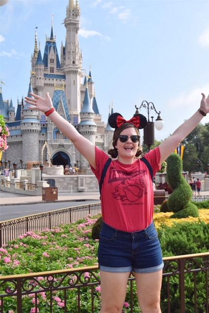 Jumping at Disney