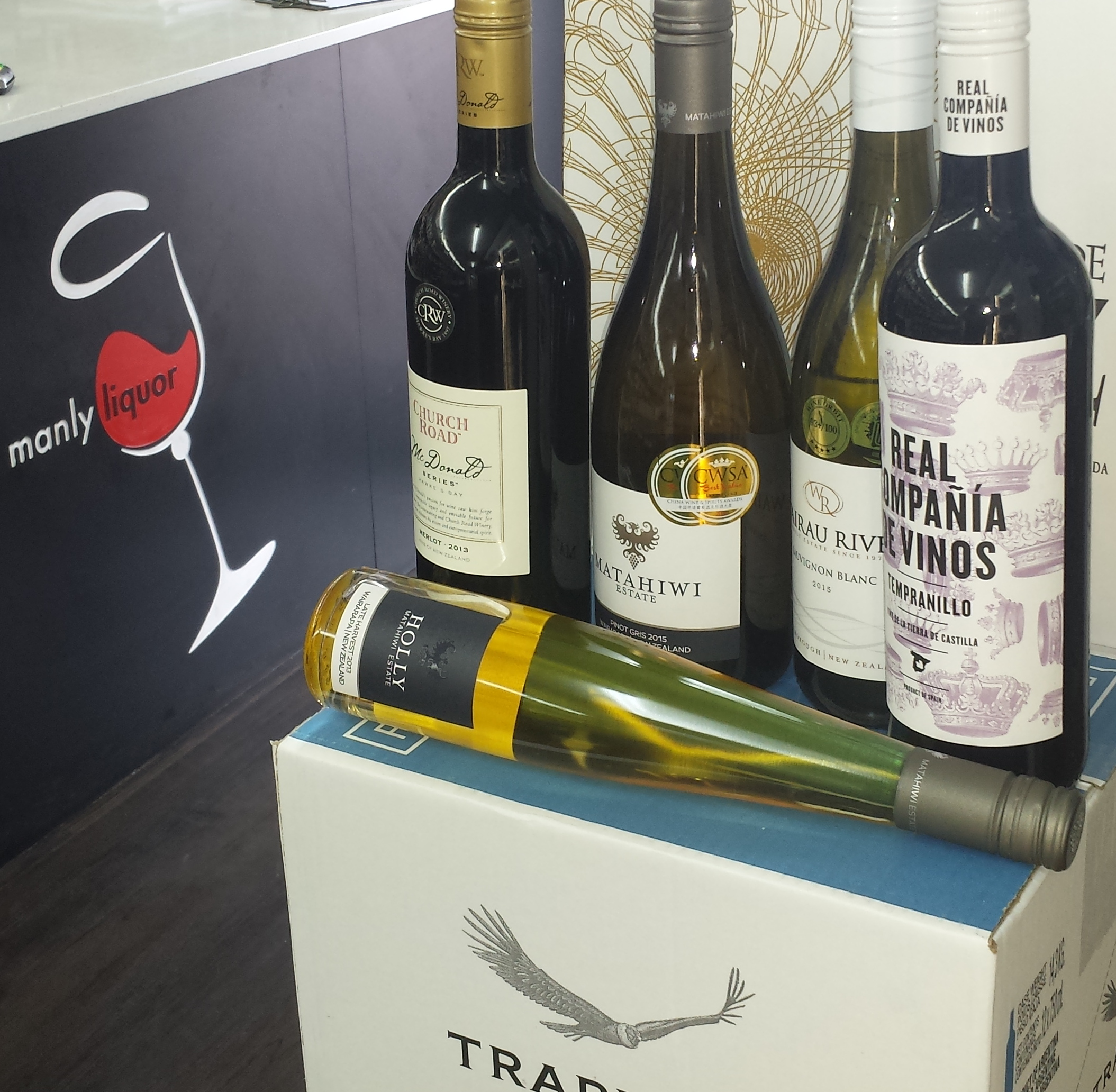 Four wines, a sticky, oh and look, a whole restock of Trapiche Malbec arrived back in store on Monday!
