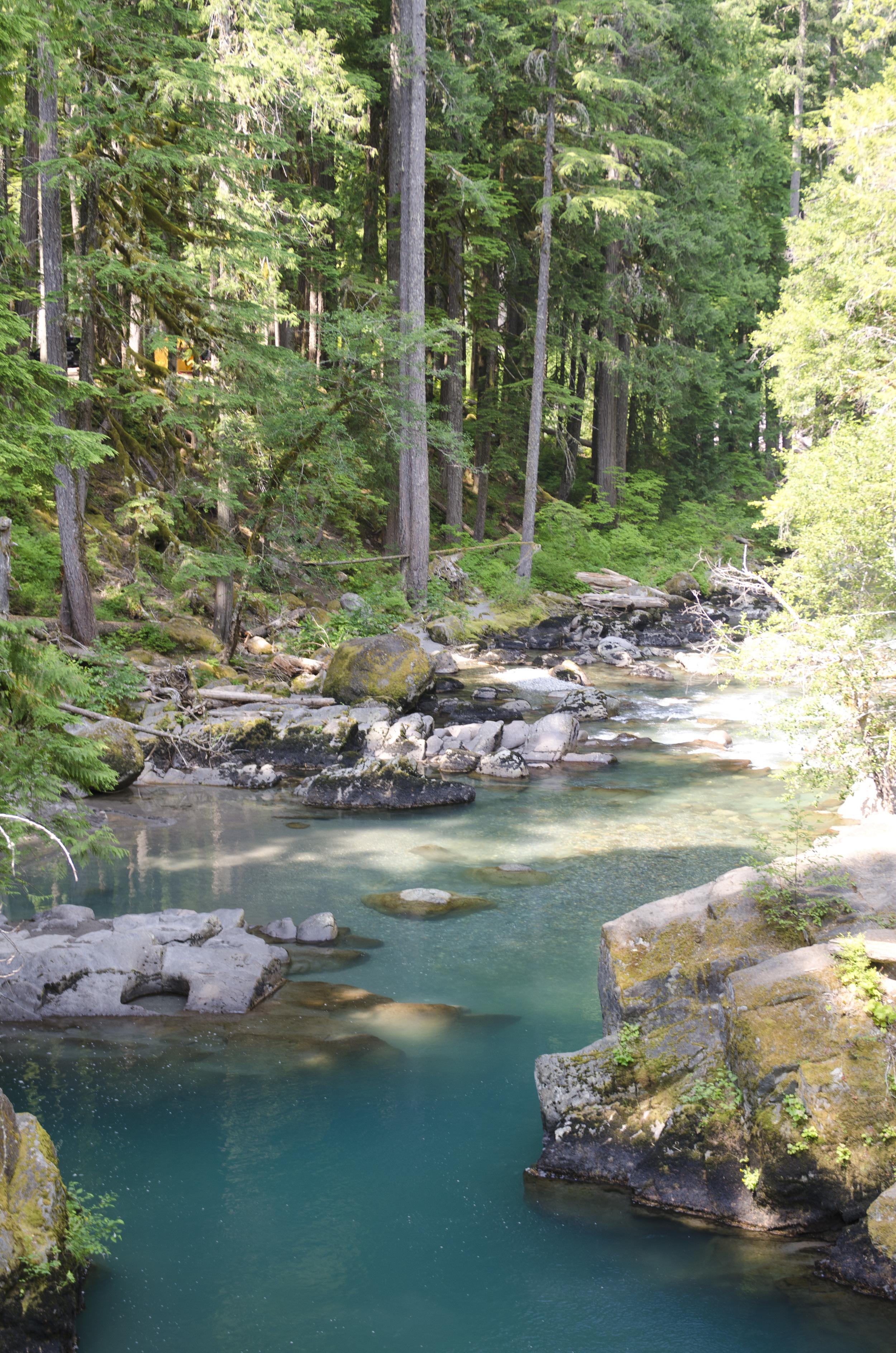 The Ohanapecosh River