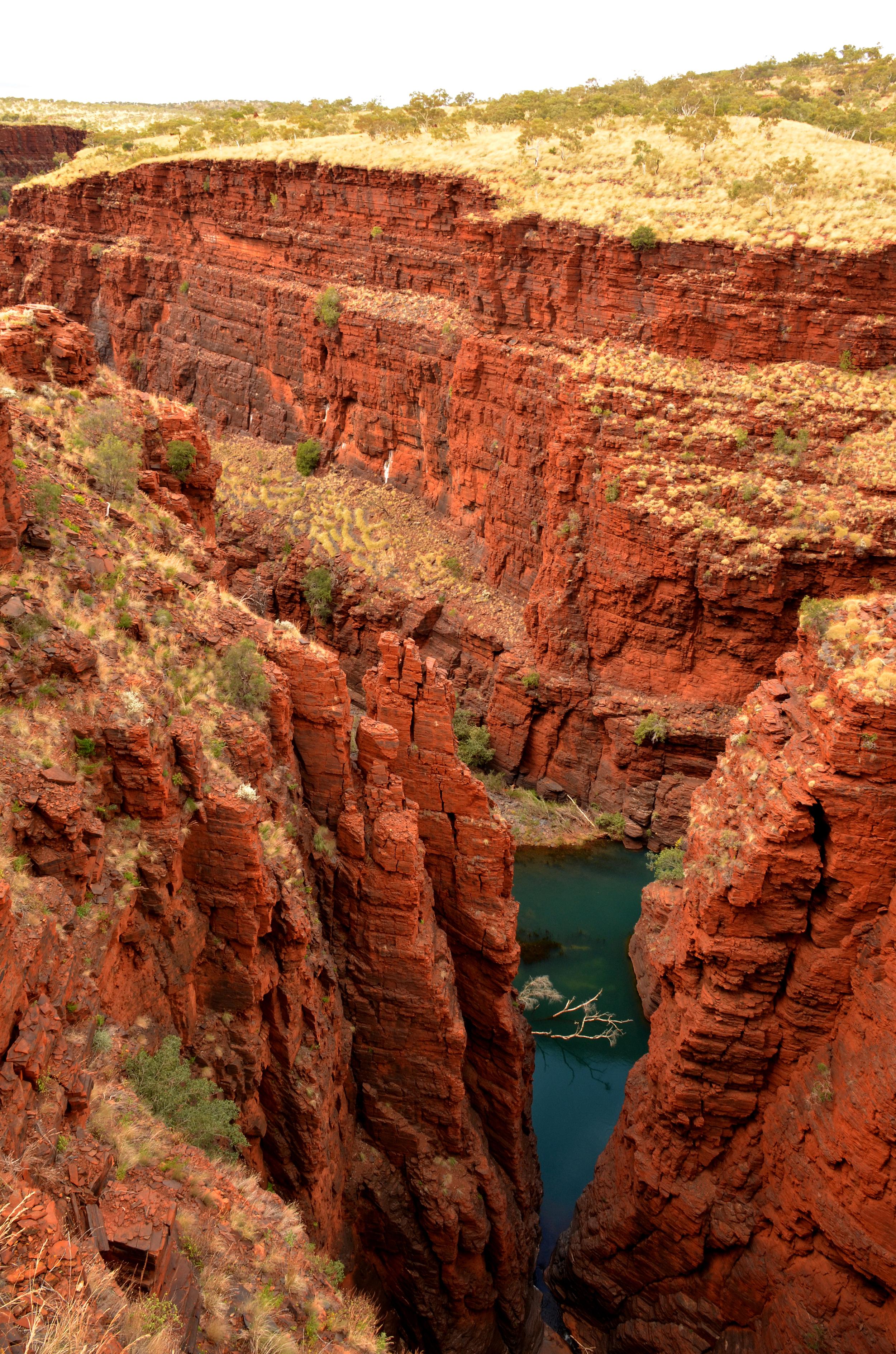 The canyons of Karijini