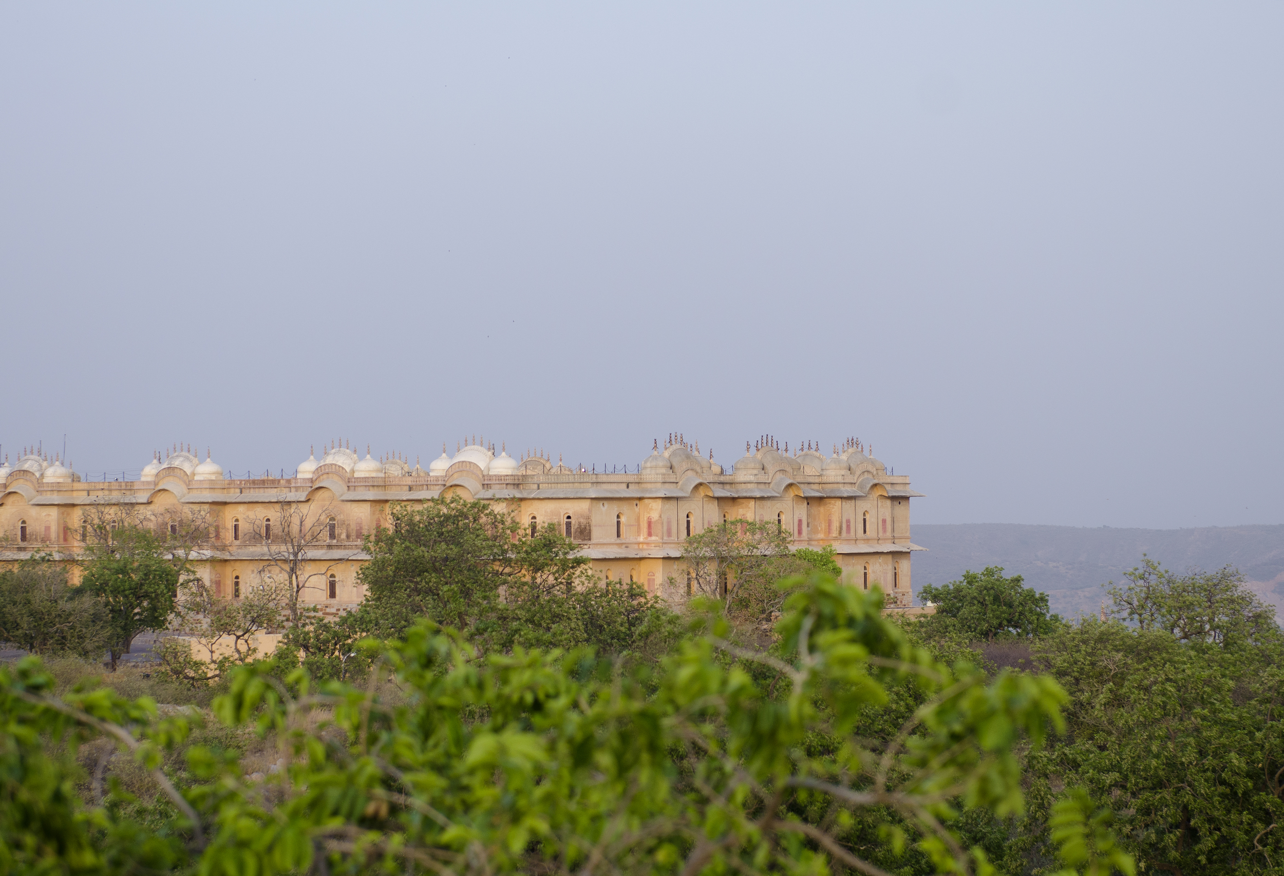 Jaigarh Fort from up on one of the walls that surrounds the fort