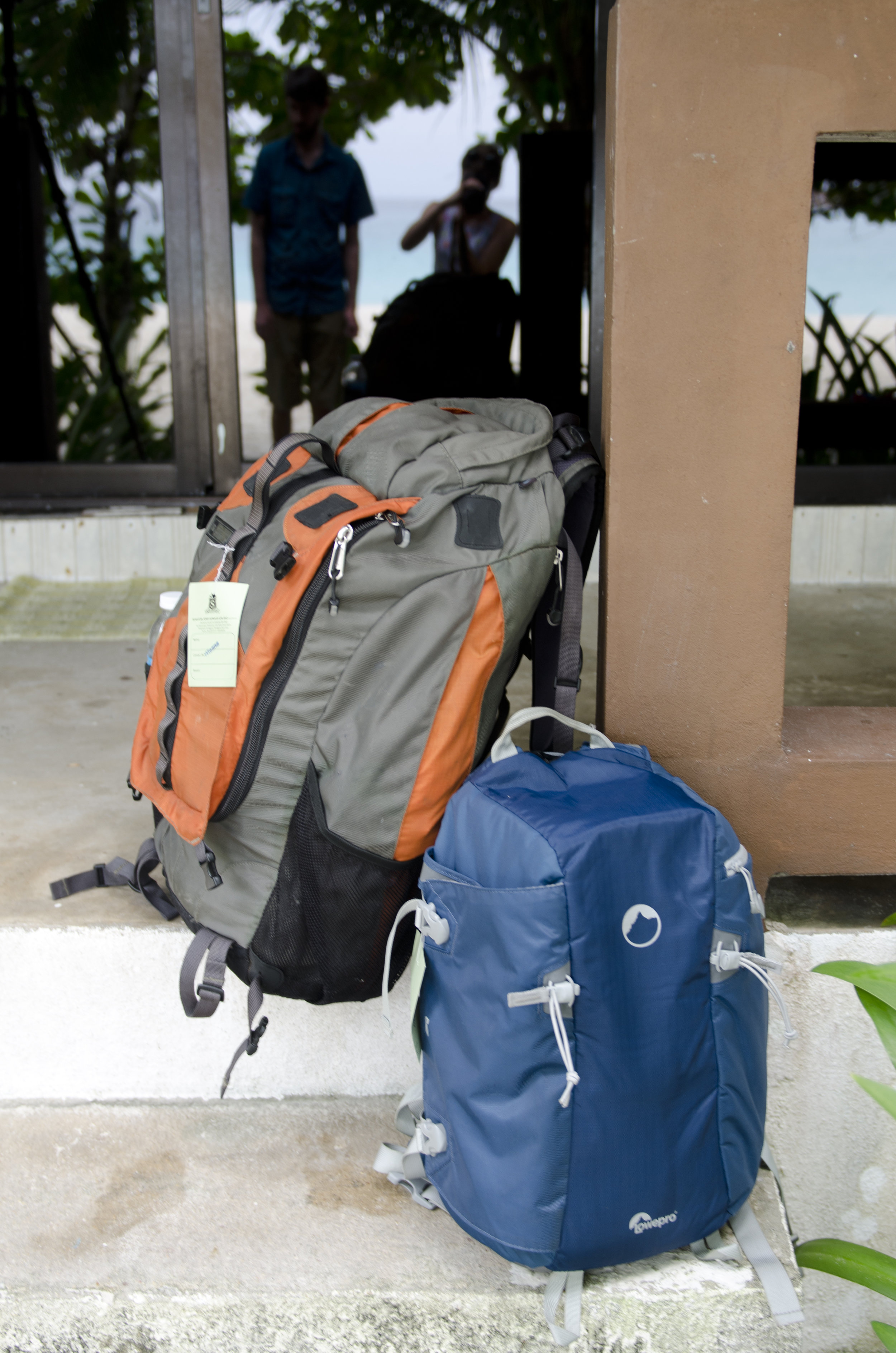 We traveled with just these two backpacks for our 2 week Asia trip - it's so freeing to pack light!