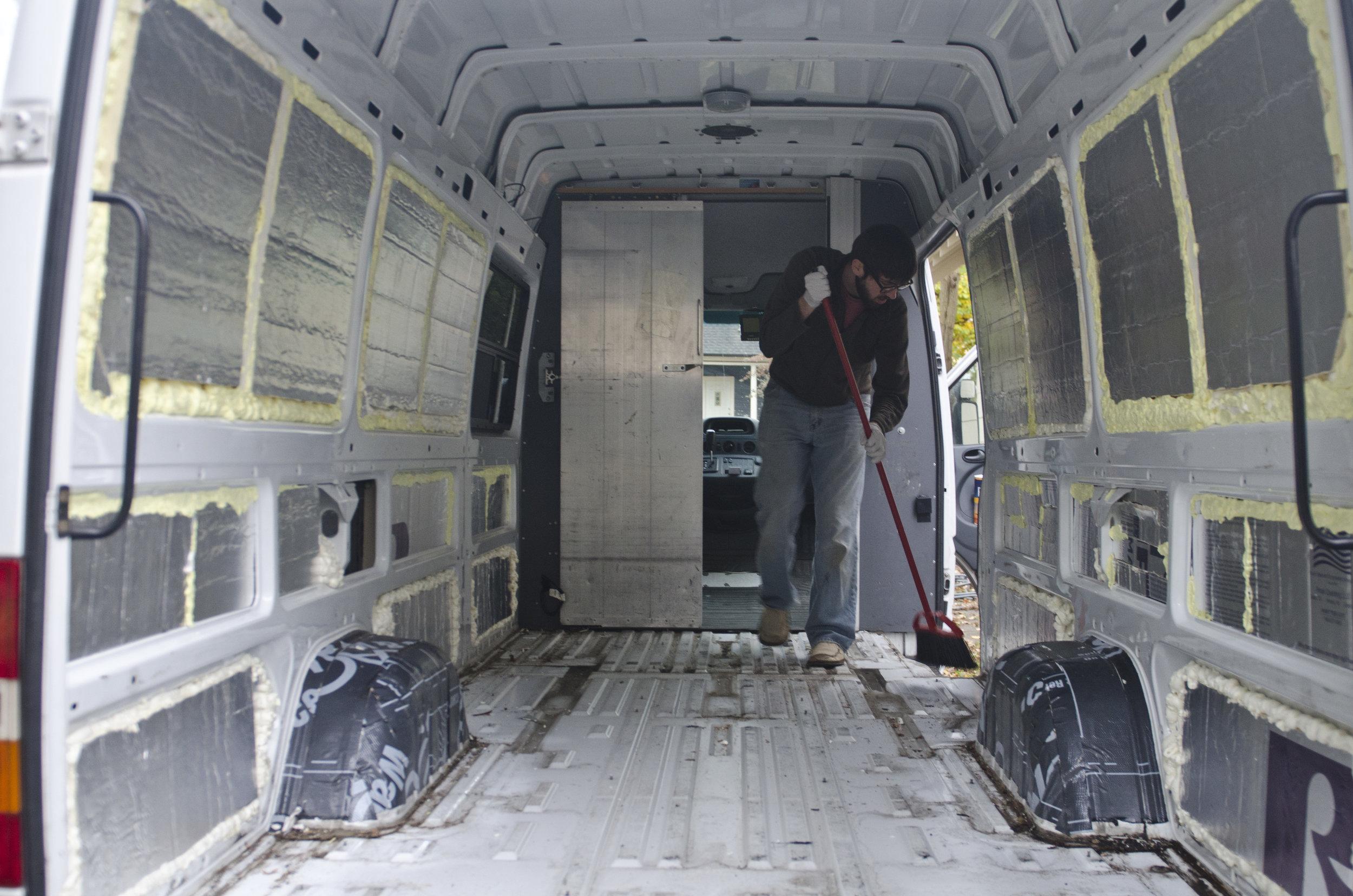From FedEx Van to Home — The Wandering Woods