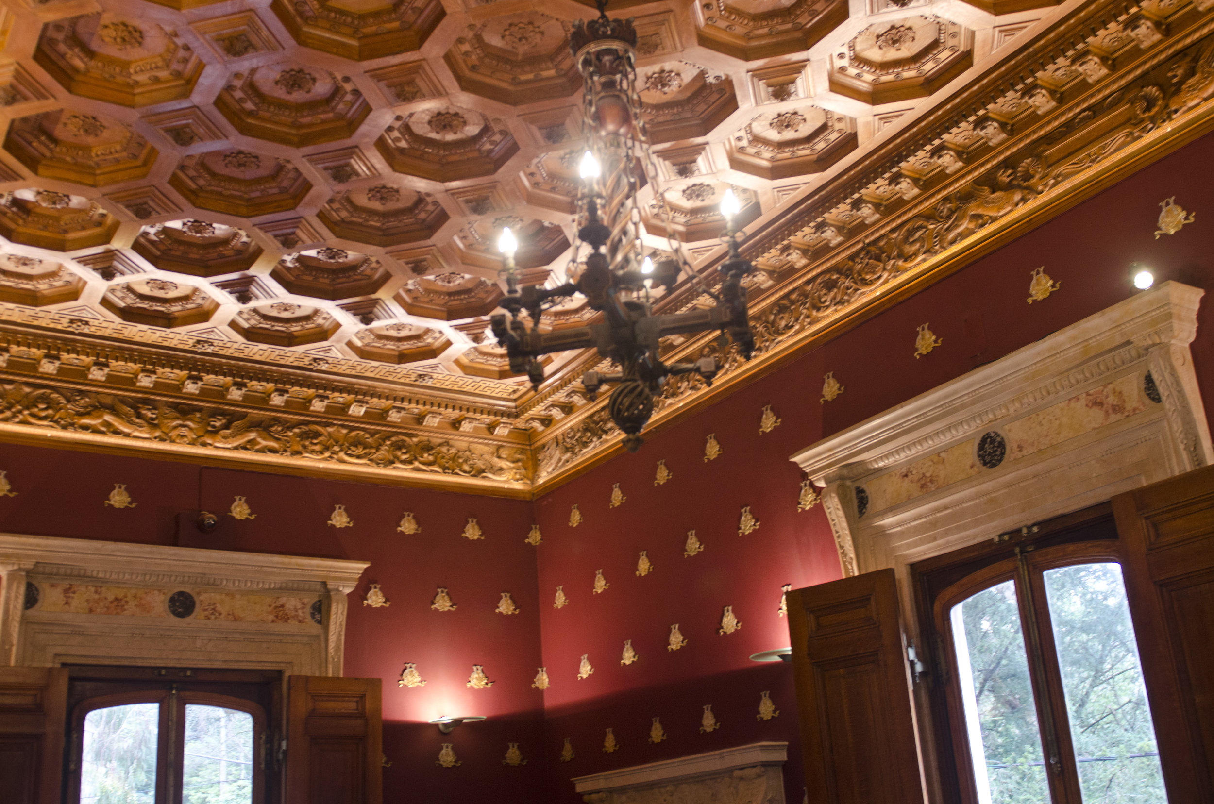 Can you imagine the time and effort required to create that ceiling?