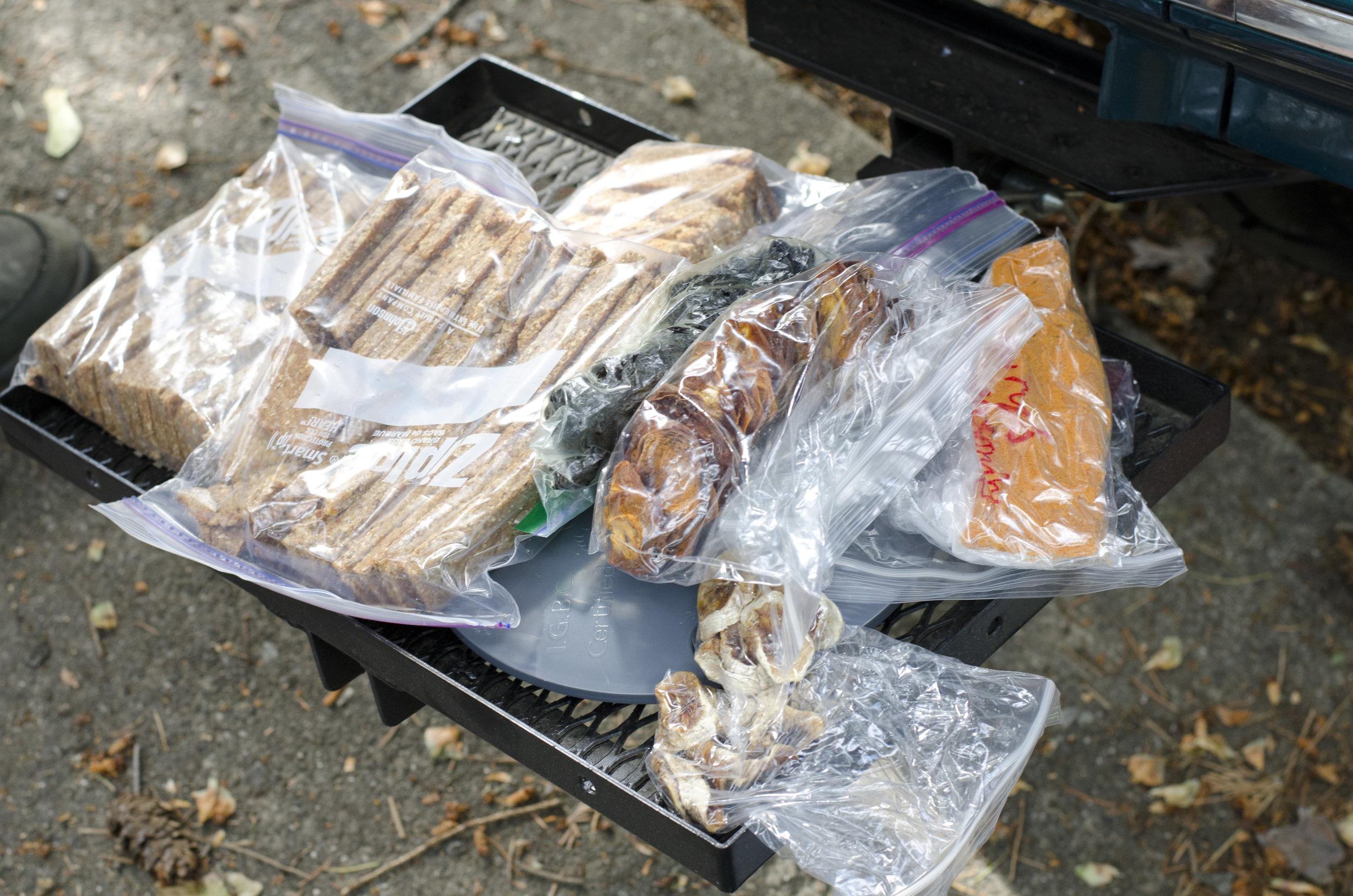 Dried goods and seasonings