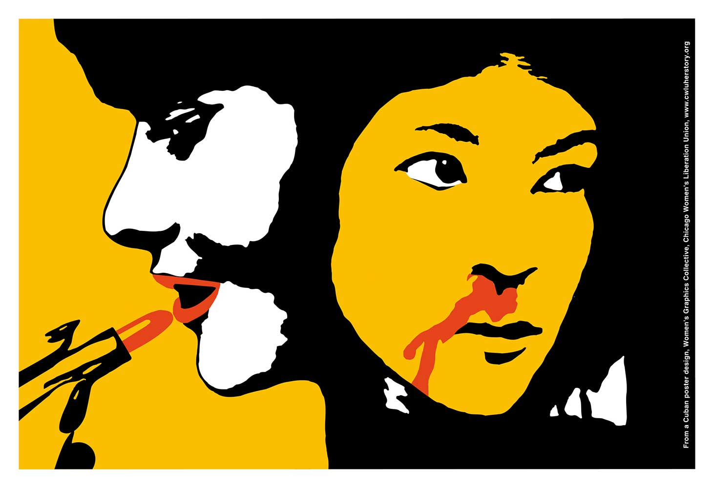 Lipstick and Violence