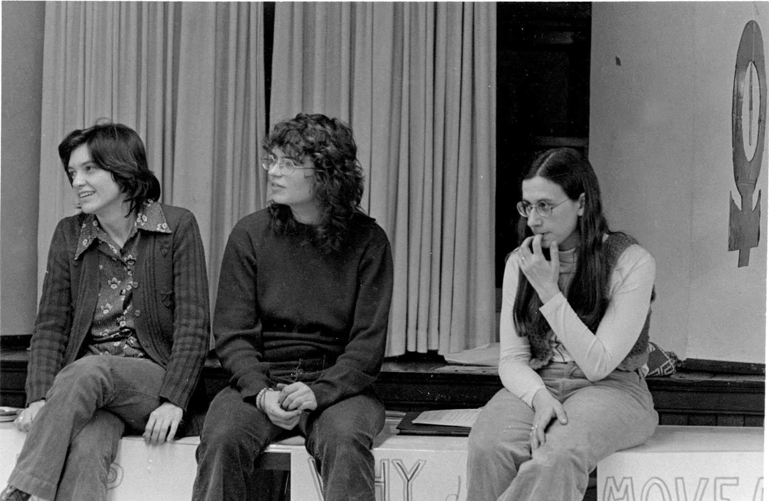 Barb, Mary Anne and Sarah, 1974