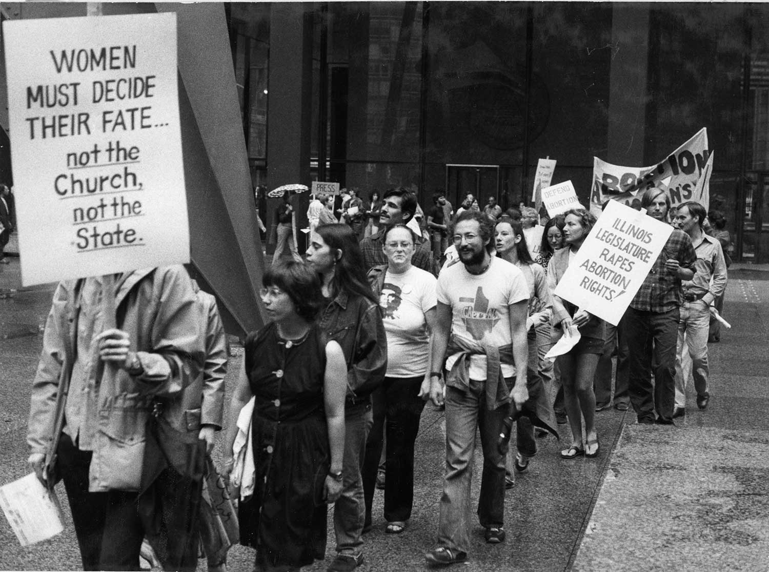 Reproductive Rights Protest