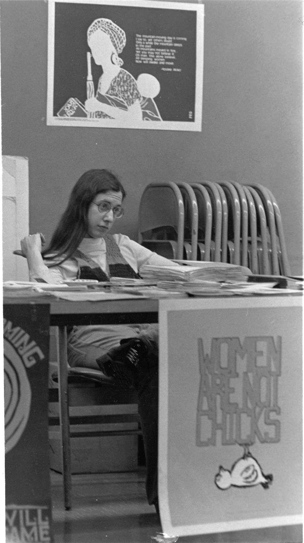 Sarah at Liberation School