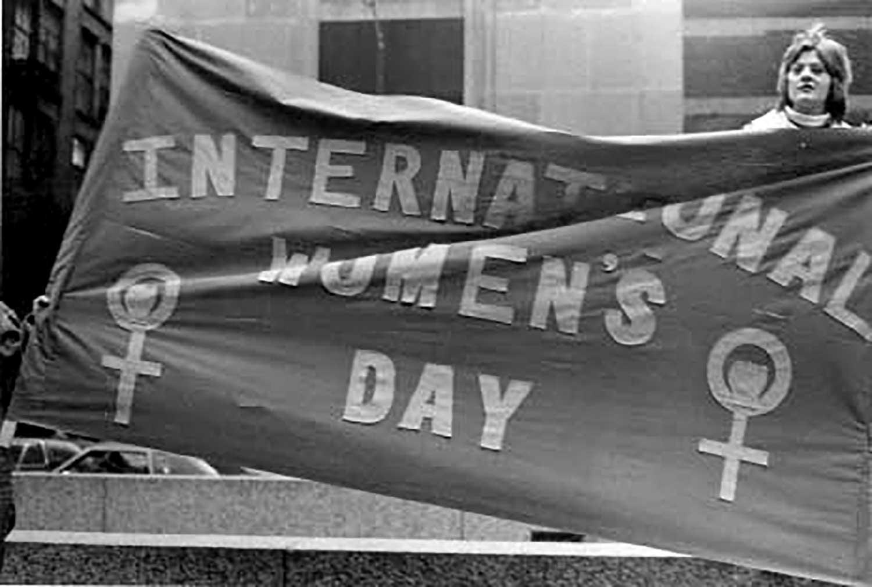 International Women's Day demonstration, March 1974