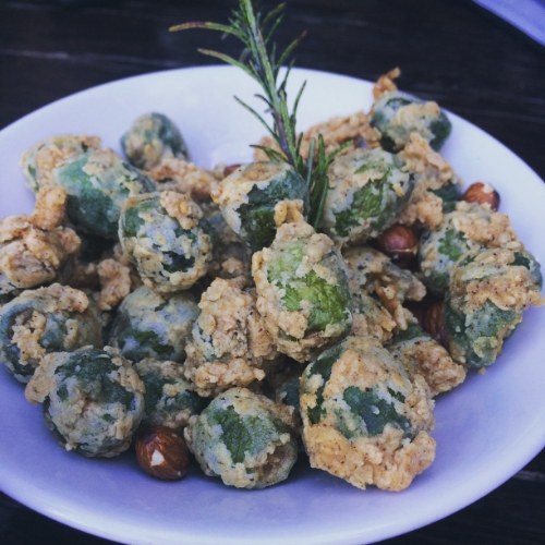 Fried olives, need I say more?