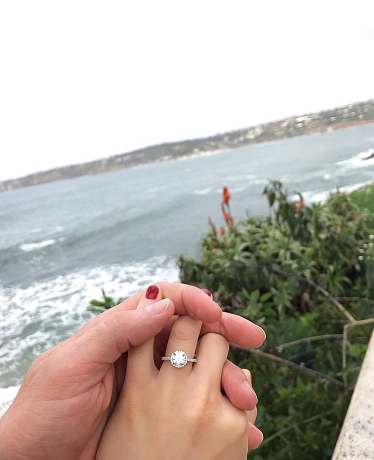 Michelle's ring.