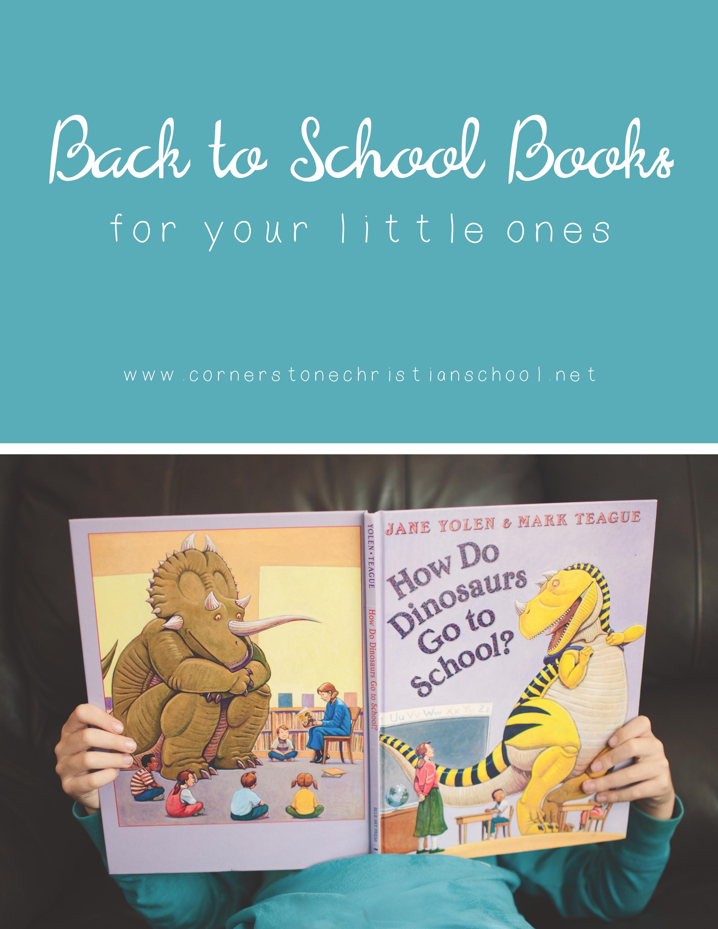 Back to School Books // Cornerstone Christian School