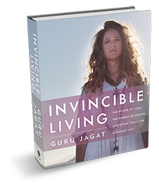 """Guru Jagat's Invincible Living  is a wildly cool, practical, and beautifully illustrated guide to applying the simple and super effective technology of Kundalini yoga and meditation to everyday life, upgrading your """"operating system""""inside and out."""