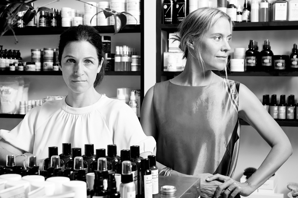 Friends for almost 20 years Kerrilynn Pamer and Cindy DiPrima share a love for wellness and an even deeper love for refined and inspired living. Veterans of the worlds of style and magazine editorial, they founded CAP Beauty with a mission to merge the worlds of wellness and design.  Kerrilynn's first business, the clothing and accessories store Castor & Pollux, was a much loved fixture in NYC's West Village. Kerrilynn introduced natural beauty to her customers in 2010 and watched the interest and love for this category grow. She herself became enthralled and was amazed there was no single destination where she could shop for the newest and most exciting natural brands.  Kerrilynn partnered with her longtime friend the photo stylist Cindy DiPrima. Known for her intelligent and elevated approach to style, Cindy has contributed to Harper's Bazaar, Domino, and Town & Country among other publications. As two style-obsessed friends, they dreamed of building a brand that would deliver naturals in the most inspired and edited way. With a heavy focus on design and sensibility, and a deep passion for healthful beauty, Kerrilynn and Cindy created CAP Beauty.