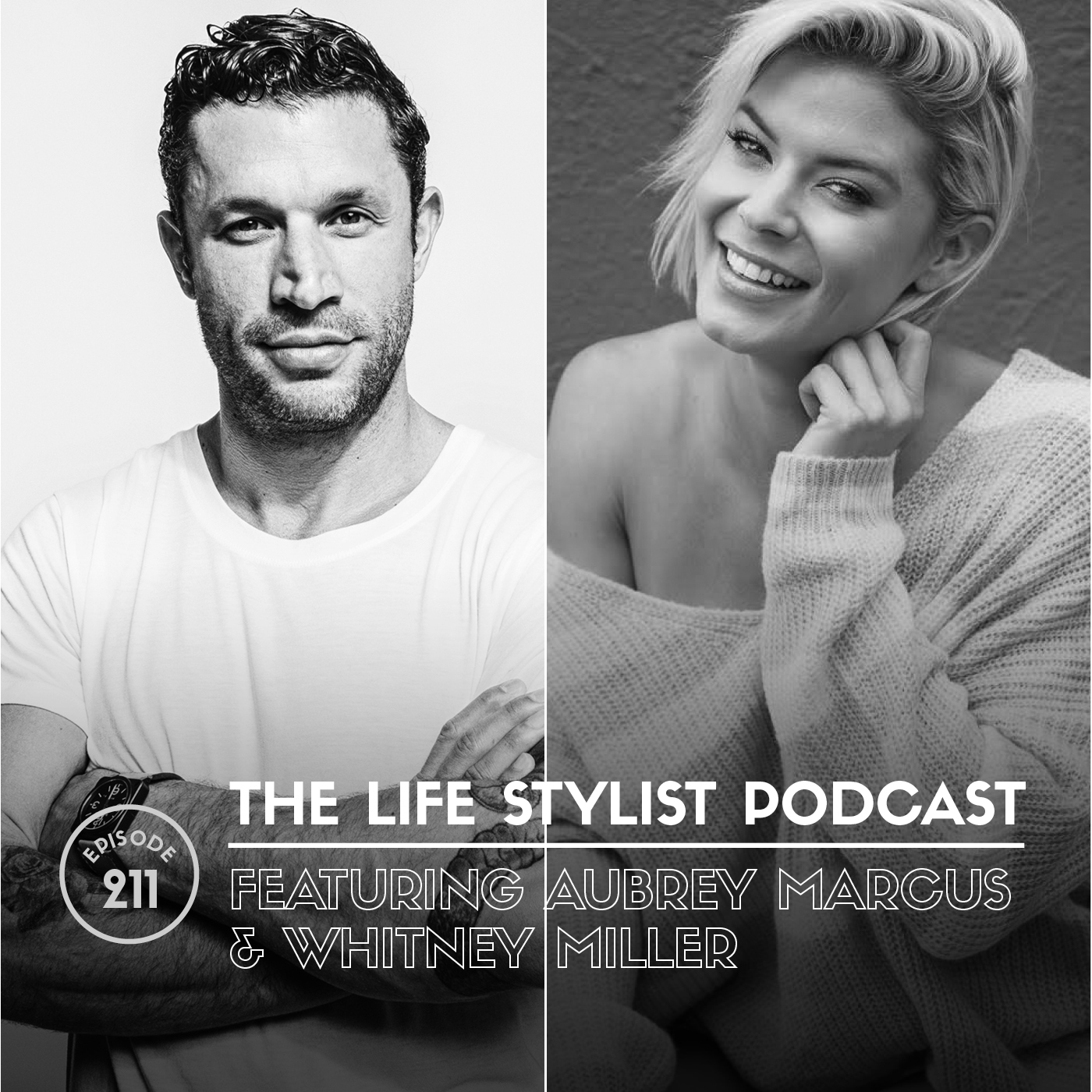 Aubrey Marcus  is the founder and CEO of Onnit, a lifestyle brand based on a holistic health philosophy he calls Total Human Optimization.  Aubrey currently hosts the Aubrey Marcus Podcast, a motivational destination for conversations with the brightest minds in athletics, business, science, relationships and spirituality with over 10MM downloads on iTunes. He regularly provides commentary to outlets like Entrepreneur, Forbes, The Doctors, and The Joe Rogan Experience and is the author of the NYT bestseller Own The Day, Own Your Life from HarperCollins.    Whitney Miller  is a former Miss United States and sports anchor who found her true calling helping individuals and couples as a love, sex and relationship coach. Her experiential journey to self-mastery started 5 years ago when she entered into a well publicized open relationship with her fiance, Aubrey Marcus.  Whitney has since joined forces with some of the leading scientists and researchers in the field, and now hosts talks and workshops around the world. She believes that regardless of your relationship construct, monogamous or open, there are always ways to create more love, better sex, and healthier, happier relationships.