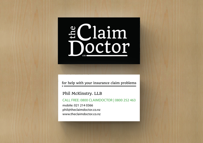 The Claim Doctor Business Card