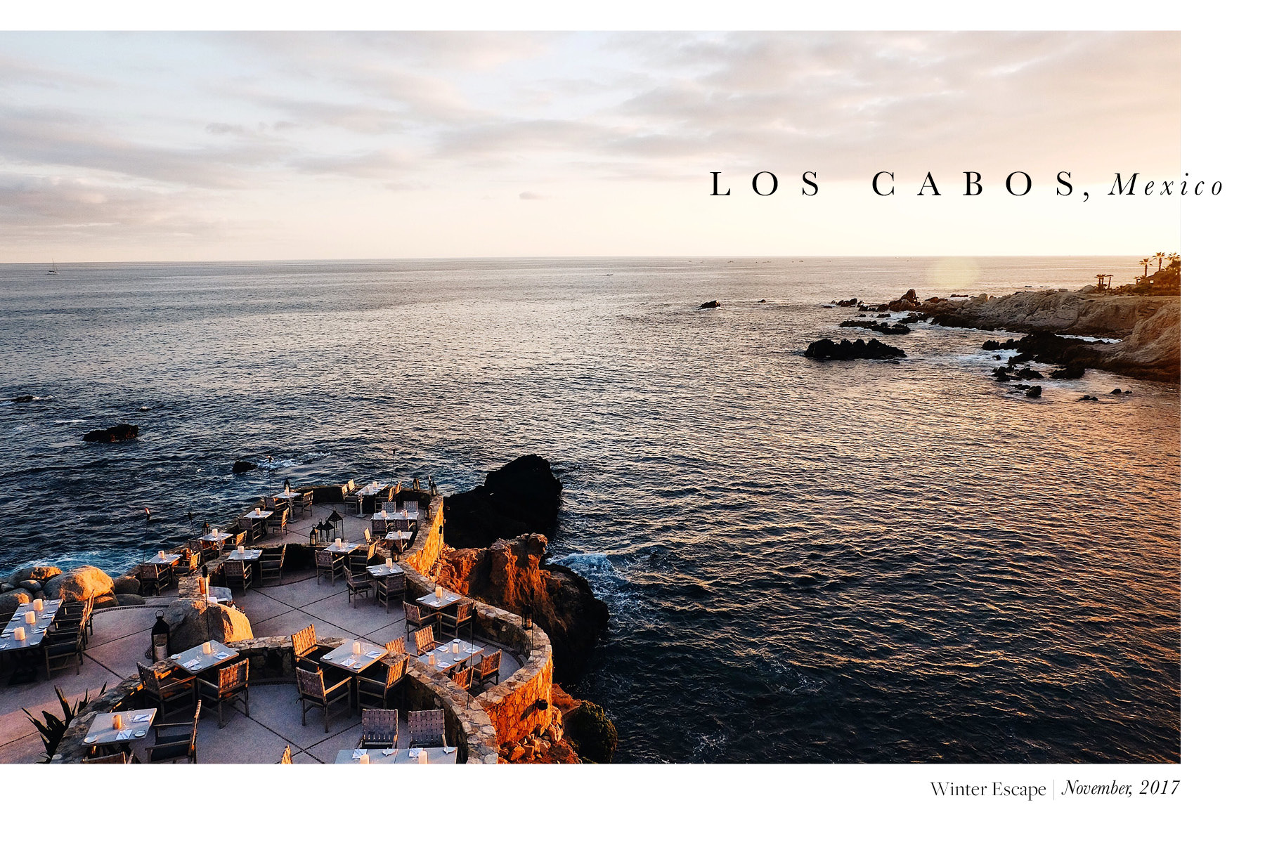Esperanza Resort, Travel Guide to Los Cabos, The Far & Near, Dulci Edge