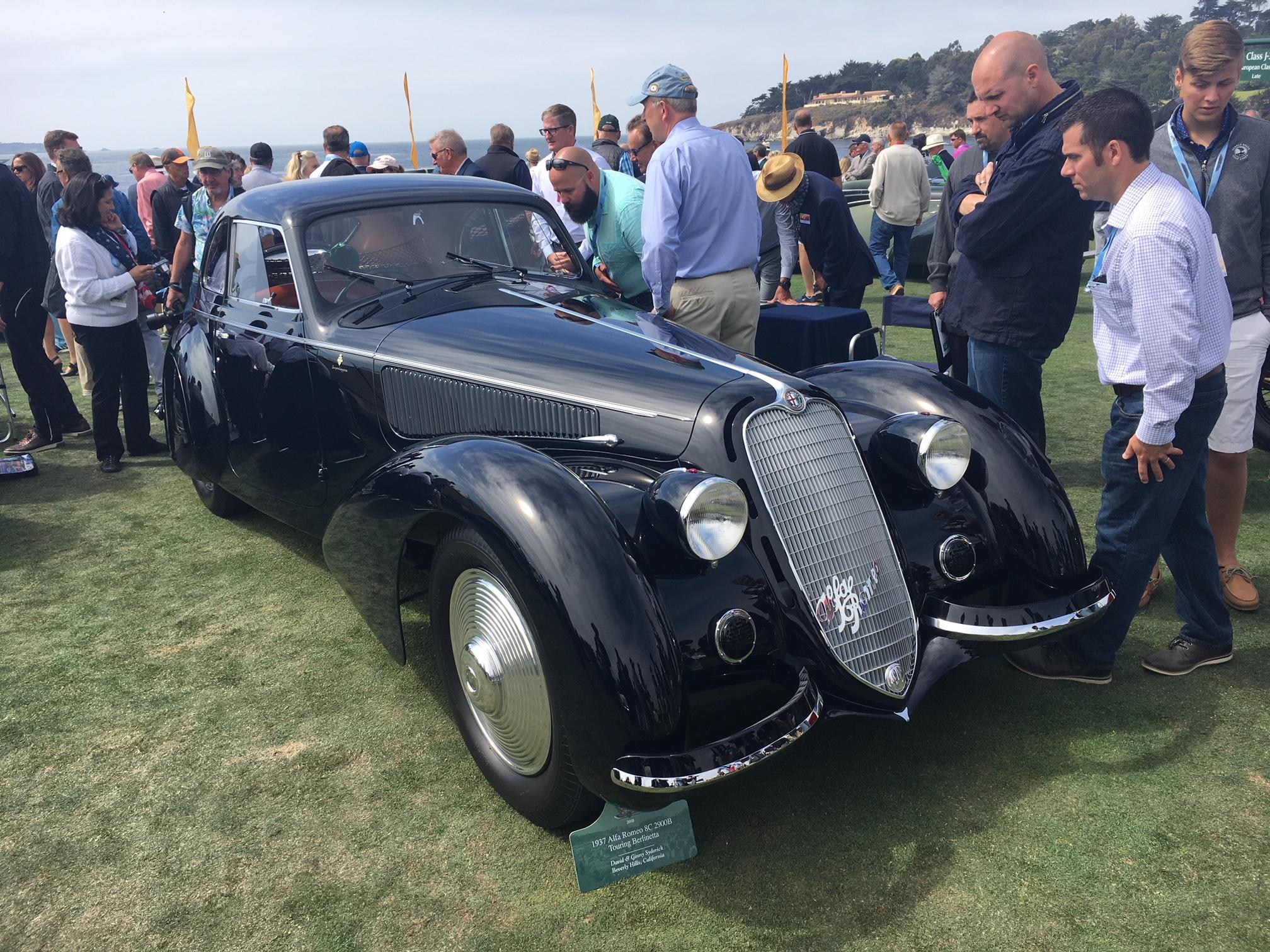 Alfa Romeo 8C at Pebble Beach Concours
