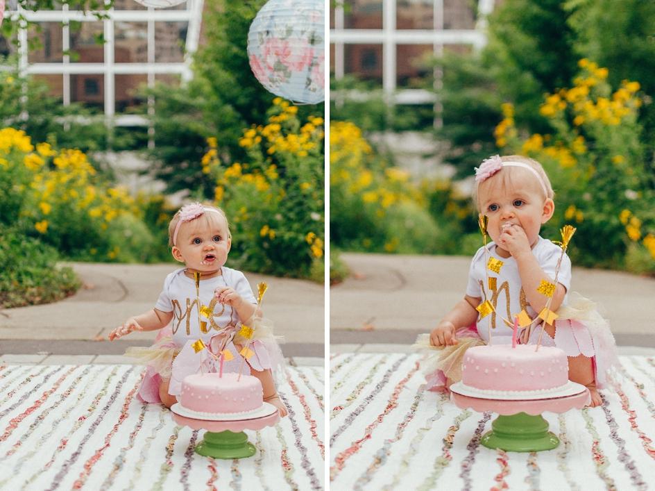 cake smash session by indianapolis photographer