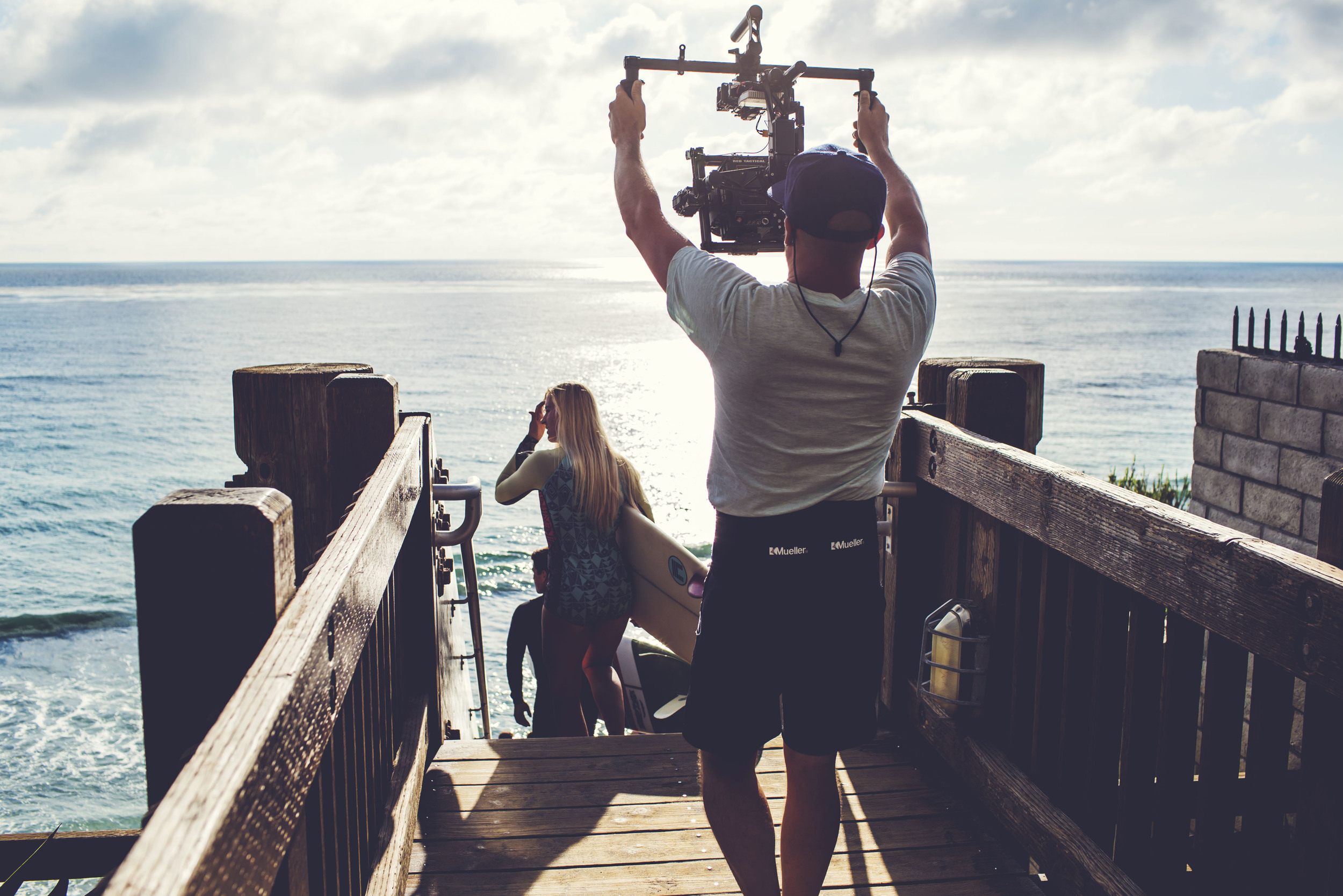 MoVI going over the edge in Encinitas