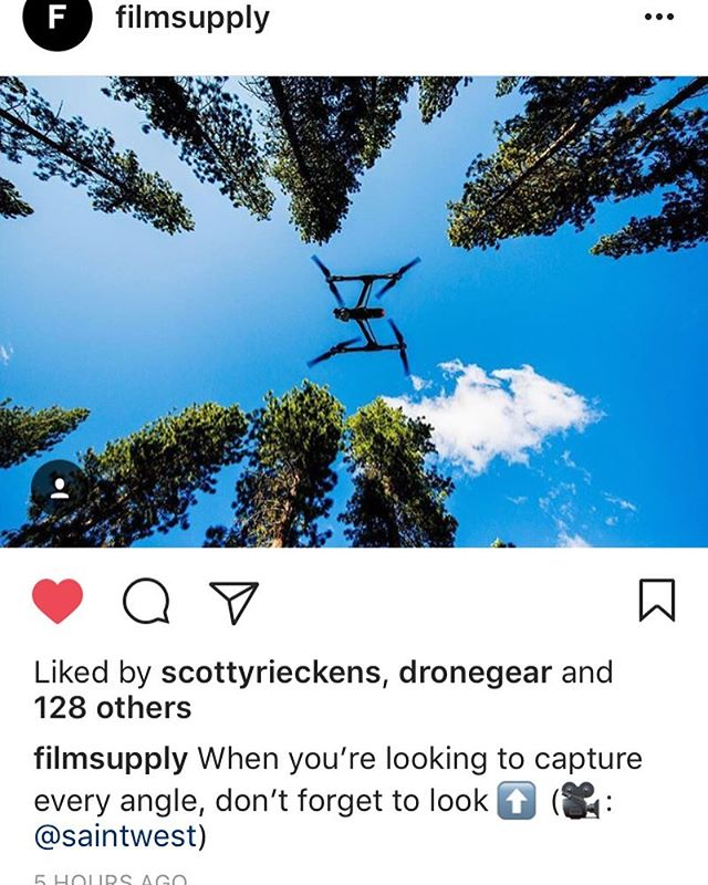 Loving the love @filmsupply #saintwest #keepitup