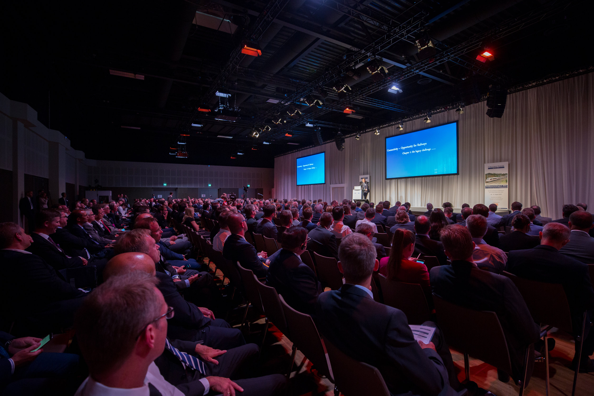 RAILWAY FORUM Berlin - Keynotes, Master Classes, Panel Discussions