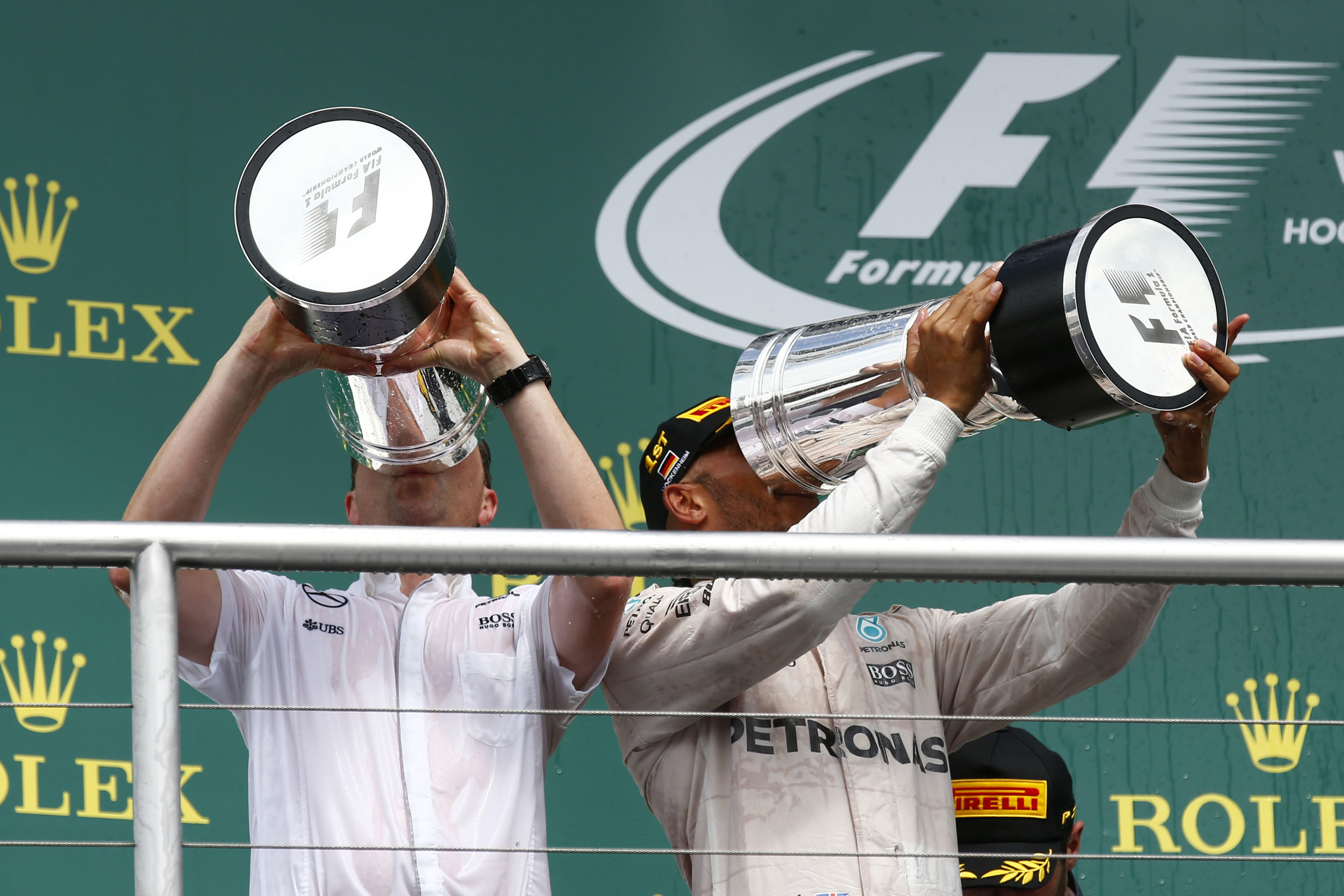 Big gulp. (Pic: Mercedes)