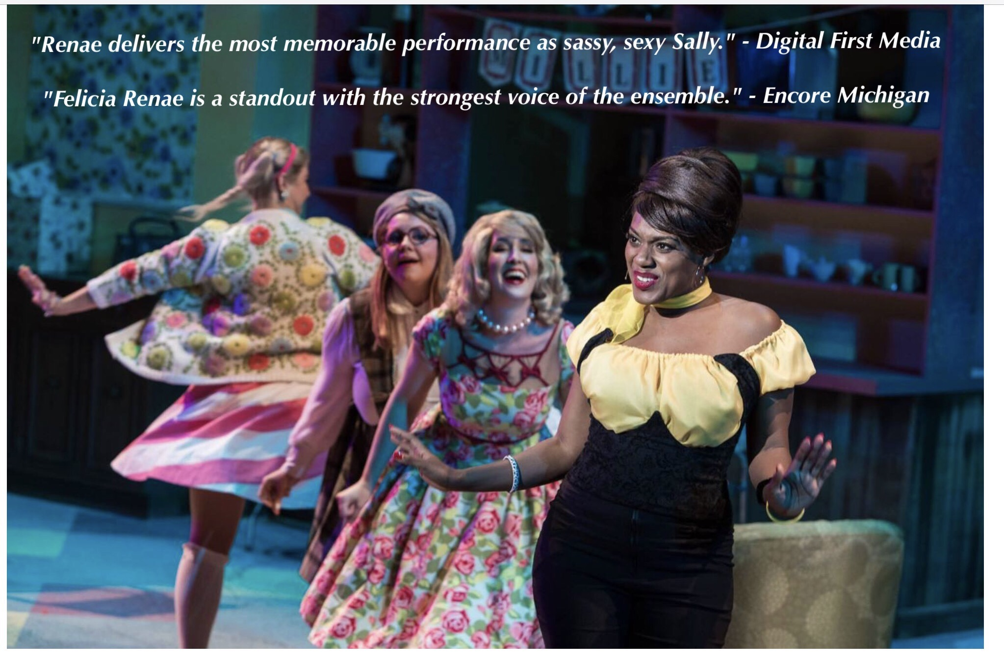 Reviews from Meadow Brook Theatre's Why Do Fools Fall In Love?