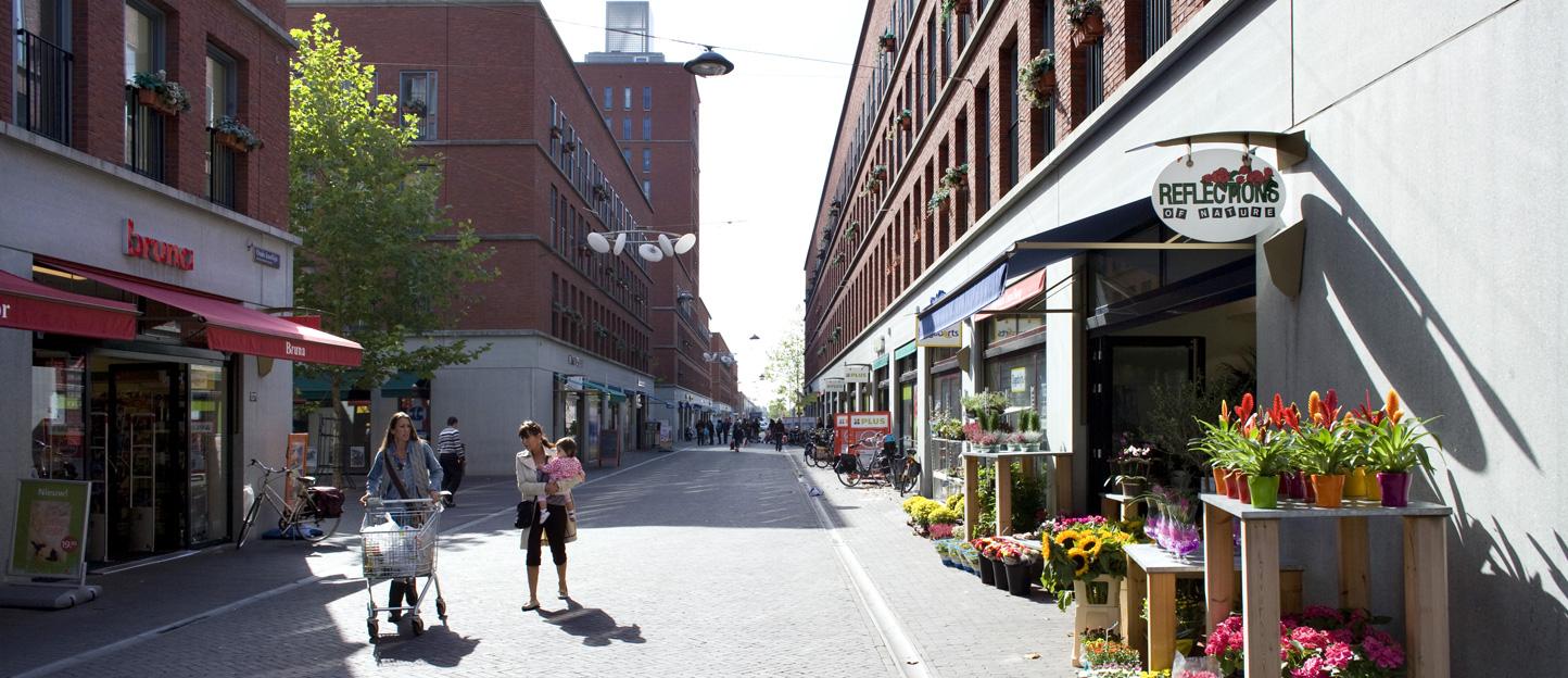 Het centrum van Ypenburg ligt om de hoek