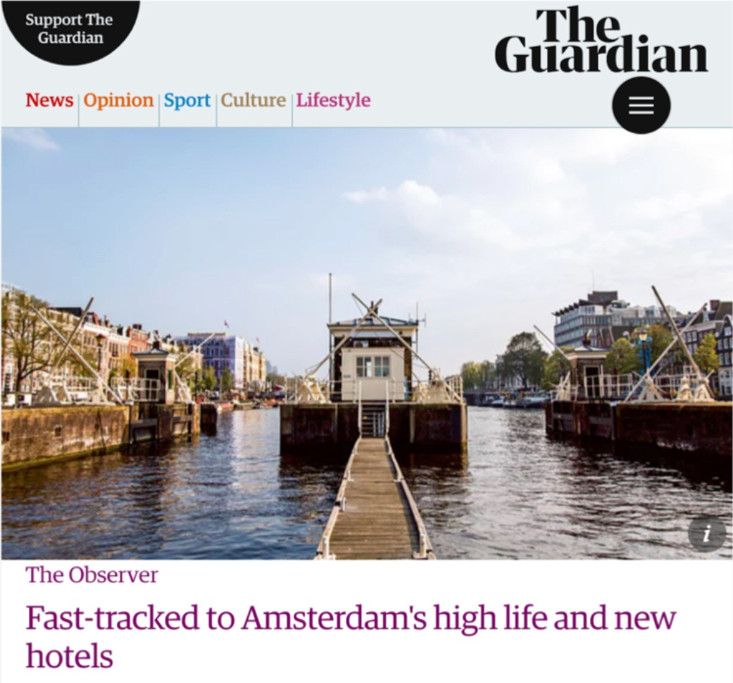 SWEETS in The Guardian