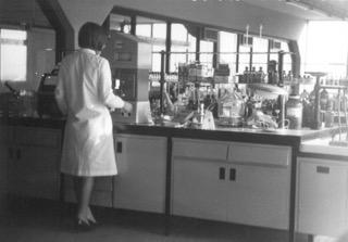 60's laboratory attire