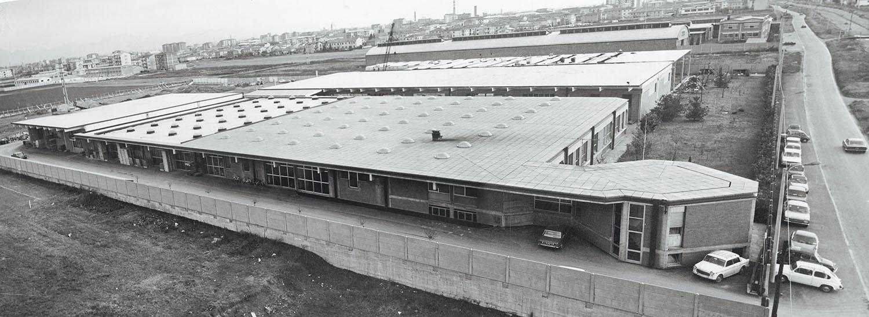 1962: la costruzione della fabbrica