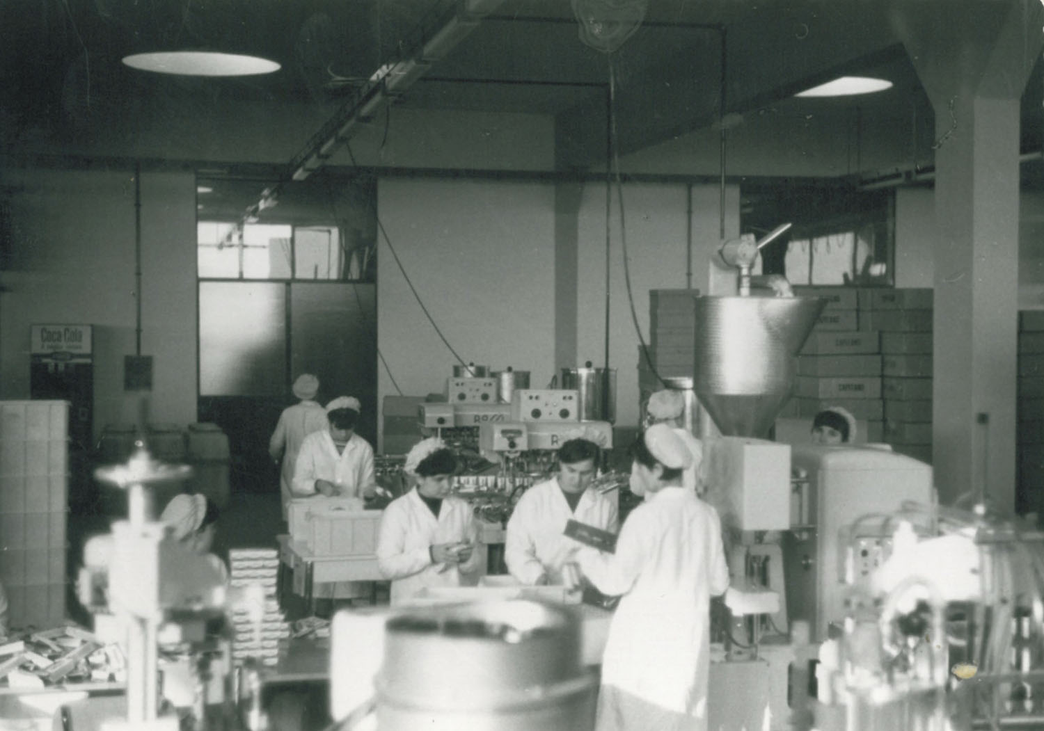 60's factory workers