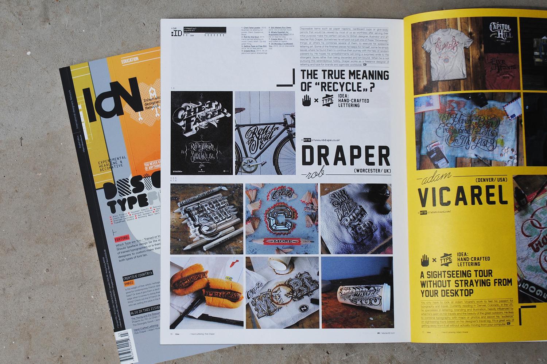 IdN International Designers Network Magazine