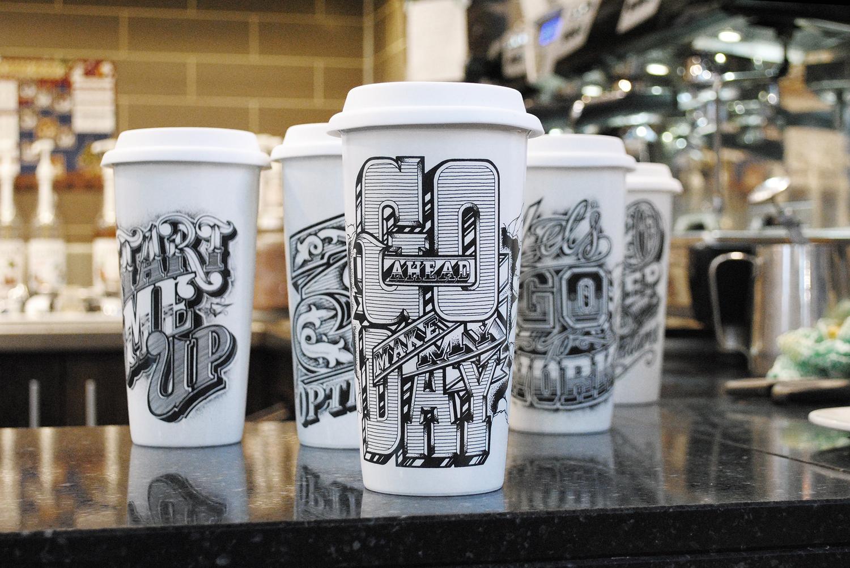 To Go? Ceramic Cup Range