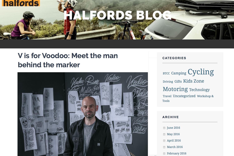 Halfords / Voodoo Bikes