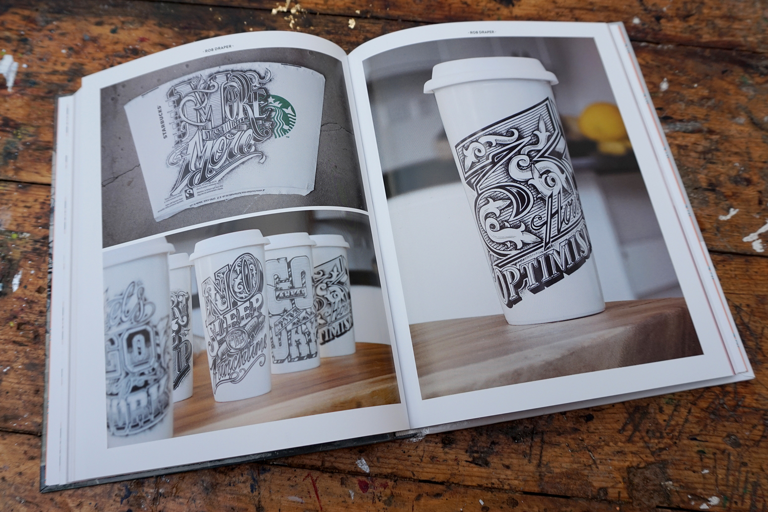 'LETTERING. Through the creative process'