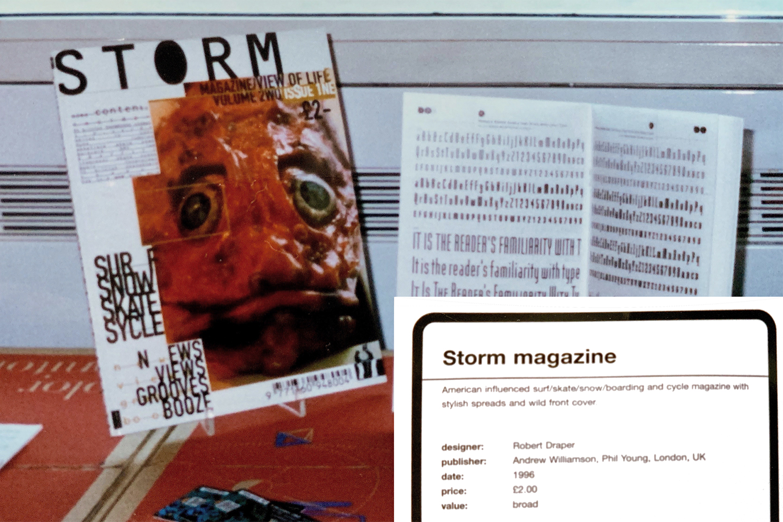 Storm Magazine. Design Museum, London 1996.