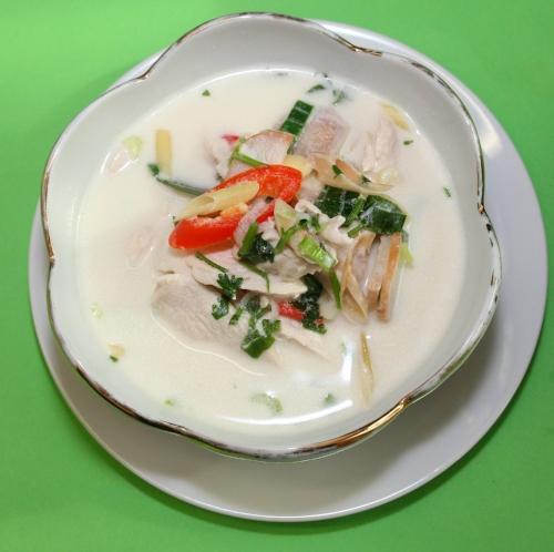 Tom Kha - Kokossuppe