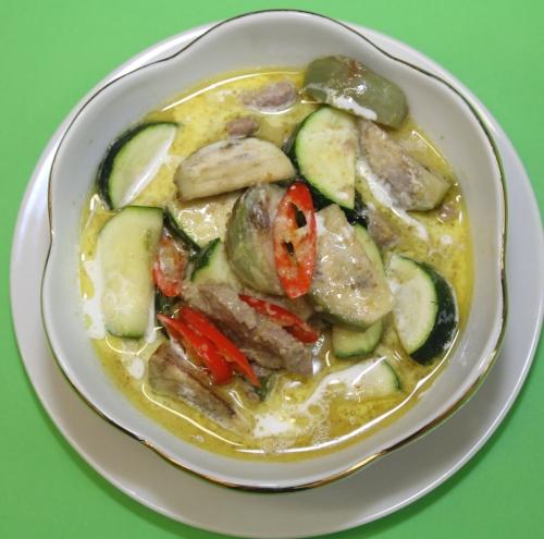 Grüner Curry - Gaeng Kiau Wan