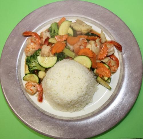 Gebratenes Gemüse - Pad Pak